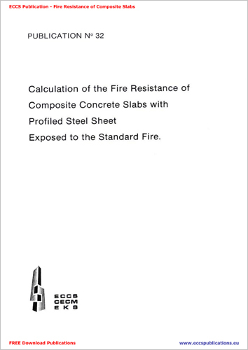 Calculation of Fire Resistance of Composite Concrete Slabs with Profiled Steel Sheet Exposed to the Standard Fire
